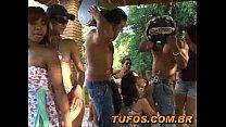 Tv zona sexo em grupo no sitio com safadas